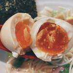 RAMEN火影 produced by 麺処ほん田 - 特製 鶏だし塩ラーメン(味玉)