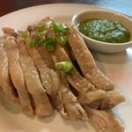 立呑 稼鶏酒場 - カオマンガイ