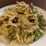 立呑 稼鶏酒場 - 鶏と玉ねぎのサラダ