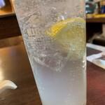 立呑 稼鶏酒場 - レモンサワー(6杯目)