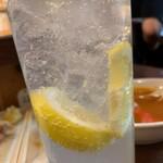 立呑 稼鶏酒場 - レモンサワー(5杯目)