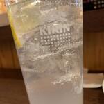 立呑 稼鶏酒場 - レモンサワー(3杯目)