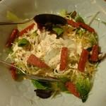 島ごはん - カリカリスパムのシーザーサラダ