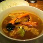 カリーレストランヨシミ - やわからチキンの札幌スープカリー