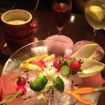 Cafe Xando - バーニャカウダ♡