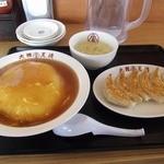 14281926 - 天津飯と餃子