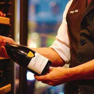 【厳選】ソムリエ厳選ワインと串焼きの好相性をご堪能下さい♪