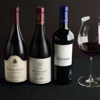 【独自ルート】から仕入れる約300種類のワインを驚愕価格で!