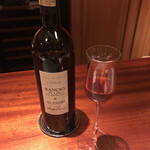 蒼 - Rancio Al Padri →北イタリアの赤ですが…これは間違いなくライトテイスト、つまり壺の表面を掬い取った紹興酒!そうとしか感じられない次のお料理のソースにぴったりのワインでした(^^)