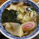 小山屋食堂 - 料理写真:肉南蛮うどん(川幅)