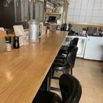 吉祥寺 肉ドレス海鮮丼 - カウンター