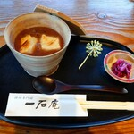 一石庵 - お汁粉700円