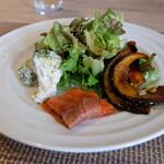 タンテ グラッツィェ - スペシャルランチコース(税込み2850円)の前菜