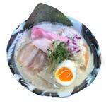 麺や 樂 - 料理写真:【2020年 冬季限定】煮干し白湯ラーメン