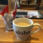 アロハテーブル - ホットコーヒー