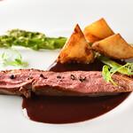CENT-TRENTE-NEUF - 鴨肉のロースト 根菜のソテー
