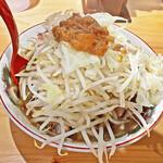 特選ラー油 肉そば 寅や - 料理写真:「寅や郎ラーメン」小ブタ¥850