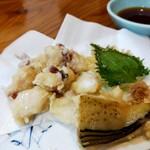 居酒屋大吉 - タコ唐揚げ!ほとんど生タコ、めっちゃ美味い!