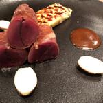 142838655 - イノシシフィレ肉のサルティンボッカ