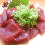 竹はる - 鯨刺身