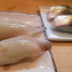 竹はる - 握り(イカミミ、コハダ)