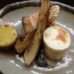 14284646 - 焼き松茸、長芋、薩摩芋