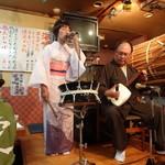 14284932 - 津軽三味線と歌のショー