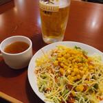 くいしんぼステ-キハウス - セットのサラダ