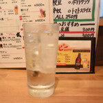 中村屋 - キンミヤ酎ハイ(ドライ)