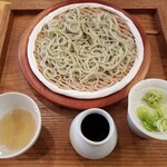 Sobanomiikkanjin - 生粉打ち蕎麦1000円