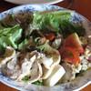 レストラン メテオ - 料理写真:ブッフェスタイルから、サラダを取ってきましたが、実はもう一皿、別にあるのです。