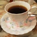 サン - ホットコーヒー(490円)