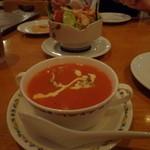 アラジン - トマトスープ 400円