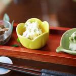 創作和食 田 - 蕎麦コースの前菜