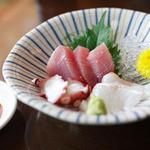 創作和食 田 - 蕎麦コースの刺身
