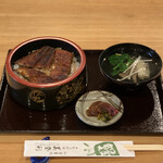 美登利 - うなぎ丼おすすめセット