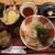 大阪 釆なりうどん - レディース定食