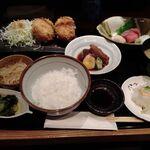 Shunsaiaoyama - カニクリームコロッケの御膳