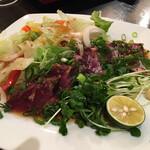 海の幸 さらむむ - 絶品鰹のサラダ