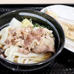 さぬきうどんの駅 綾川 - 肉ぶっかけ冷
