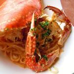 14286204 - ワタリ蟹のパスタ クリームベース 3mmのタリオリーニ