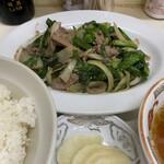 Nozawaya - レバニラ炒め 800円