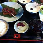 料敬 - うなぎ蒲焼定食(半分)