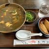 Tamagawaudon - 料理写真:カレー南蛮といなり寿し