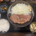 142872408 - ・上キセキステーキ定食 1,650円/税込