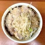 希  - ラーメン豚(850円)野菜、アブラまし