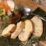 イタリアン酒場 MESSA - 魚介とアボカドのユッケ