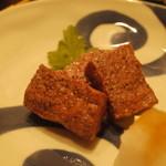 飯豊 - 山形牛の串焼き