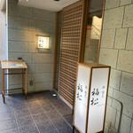 鮨 割烹 福松 - 入口