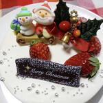 パティスリー ル・シエル - クリスマスケーキ       シャンティ ノエル(5号) 4000円